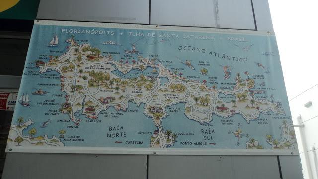 Praia  do Pântano do Sul – de bilhetinho a Santo Antônio