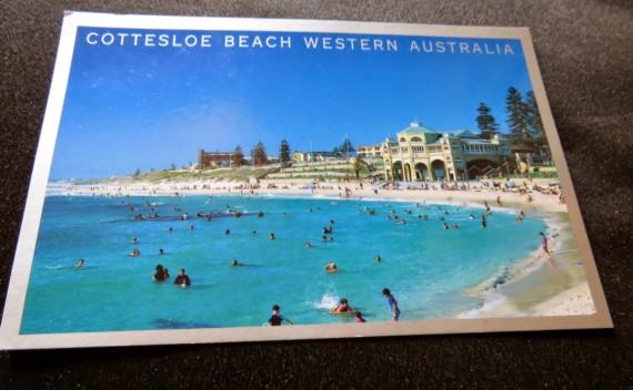 Perth, Austrália – através de seus cartões postais