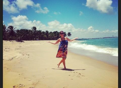 Praia do Gunga – beleza brasileira…