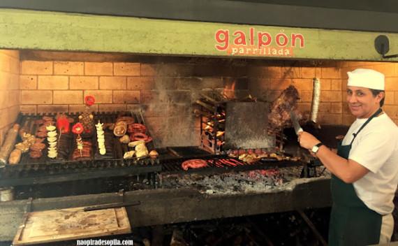 El Galpón e sua famosa parrillada em Rivera, Uruguai