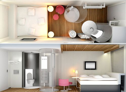 Design super arrojado e moderno - Foto: Pinterest