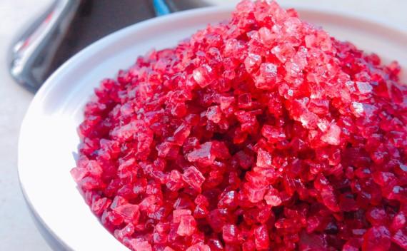 Como preparar sal e cubos de vinho?