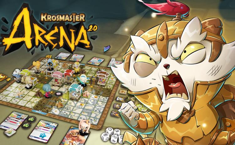 Review Krosmaster Arena, o board game para ensinar seu filho a jogar!
