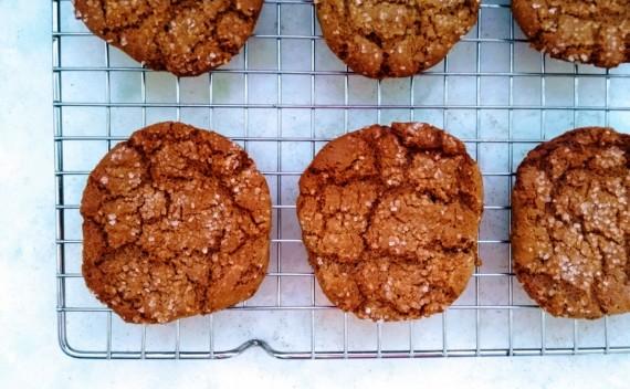 Receita – cookie de pasta de amendoim com geleia de morango