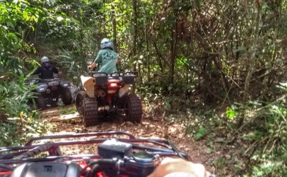 Aventurah! e seu passeio de quadriciclo em Brotas