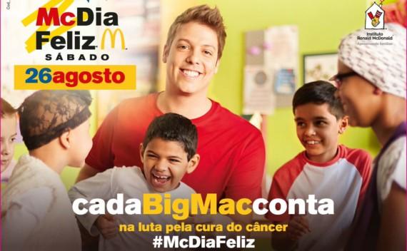 Esquenta McDia Feliz terá evento cultural aberto ao público dia 19/08