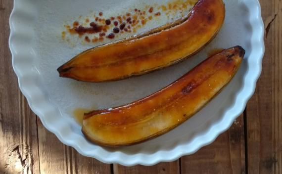 Crème brûlée de banana – sobremesa deliciosa para o Dia dos Pais!