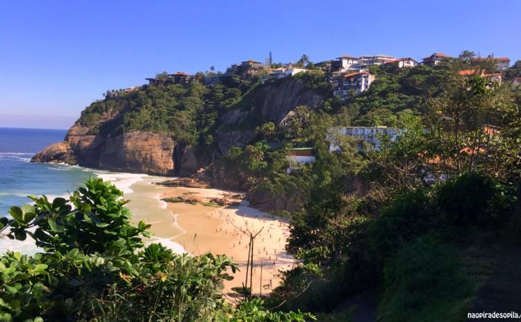 Praia vazia no Rio de Janeiro durante o verão? Sim, é possível!