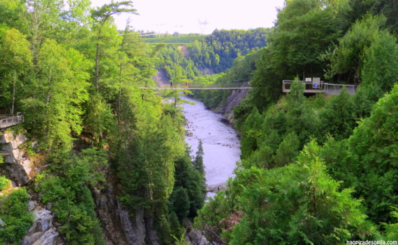Canyon Sainte-Anne, Quebec – uma ótima pedida em um final de tarde