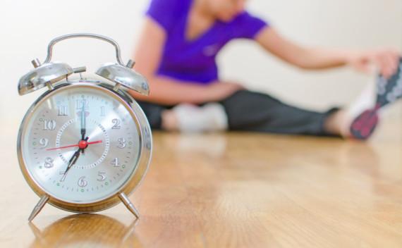 Qual é o melhor horário para treinar?