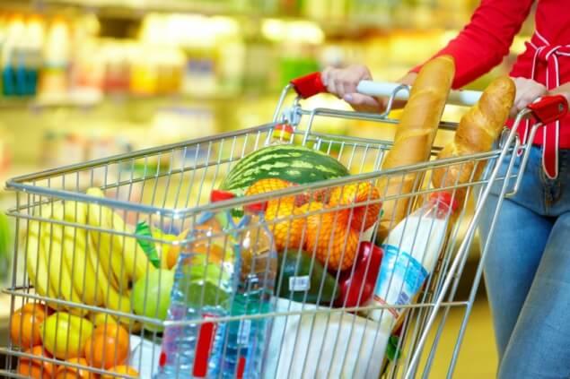O que entra no meu carrinho de compras no supermercado?