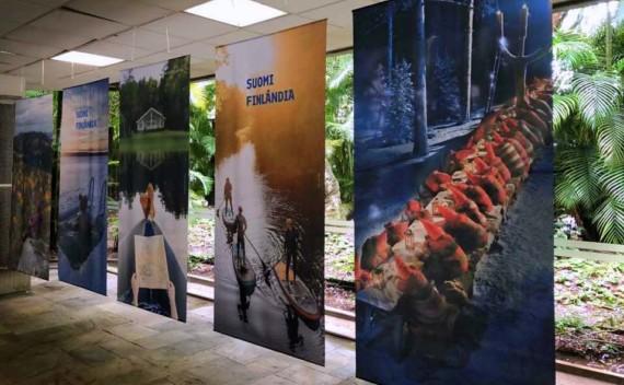 Exposição 100 anos de Finlândia na Feira Escandinava
