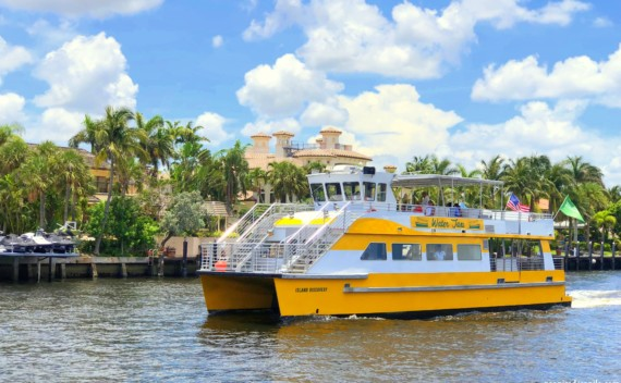 Water Taxi Fort Lauderdale – passeio ou transporte?