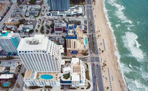 Hotel em Fort Lauderdale Beach? O Conrad é puro luxo e conforto!